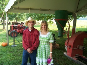 After a performance at the Biltmore House Farm in Asheville, NC