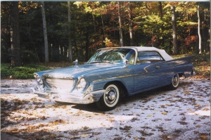 side view of chrysler convertible