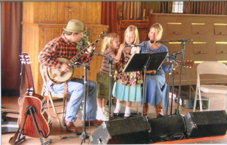 Buckner Family at Biltmore