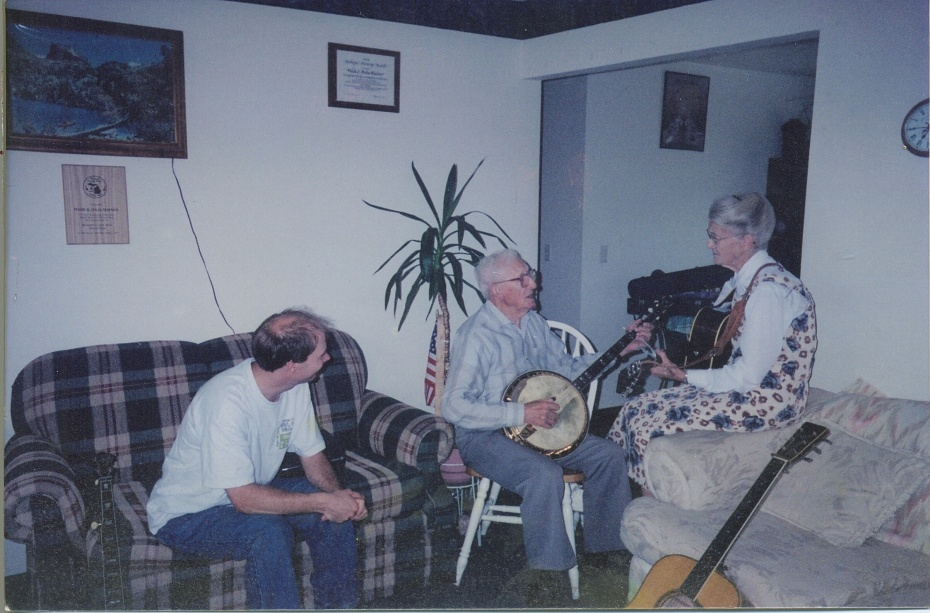 George with Wade and julia Mainer