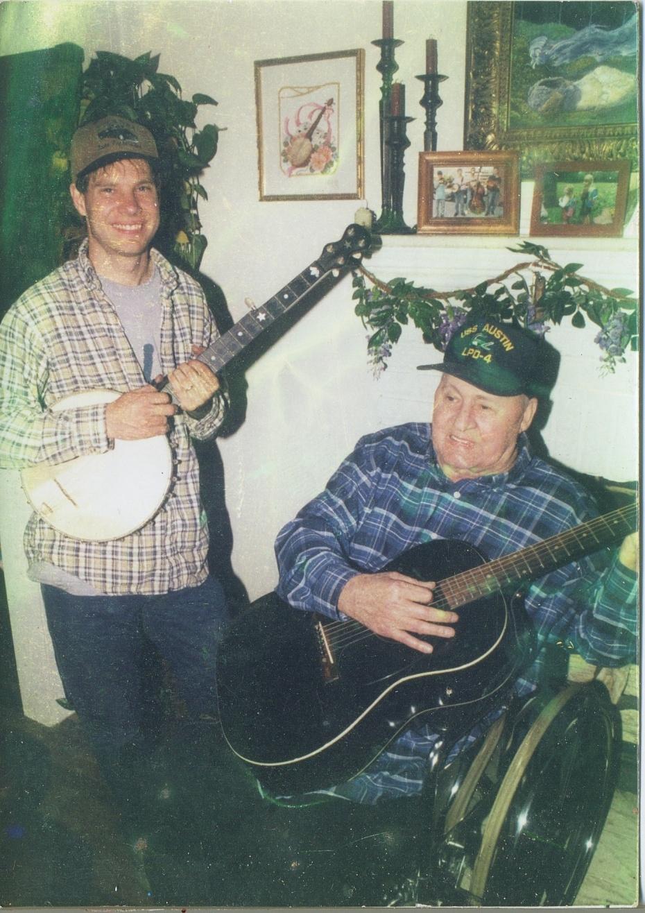 George with Jack Wallin