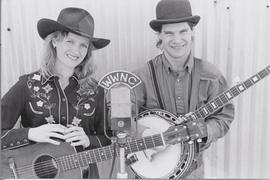 George and Brooke WWNC 1997